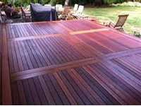 (LF)  8'-13' Shorts Mahogany Decking 5/4x6 - SOLD BY LF